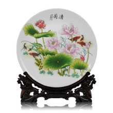 供应陶瓷纪念摆盘定制厂家
