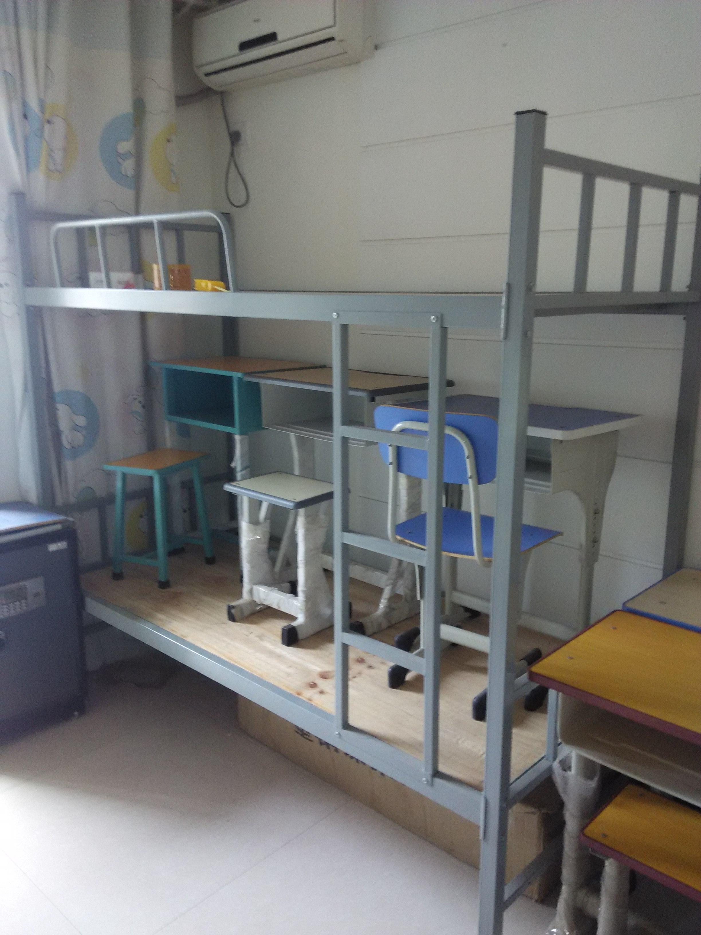 供应郑州工程用双层床生产厂家,工程双层床尺寸,工程双层床钢管质量