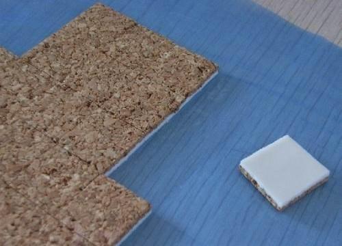厂家直销 钢化玻璃防震软木垫