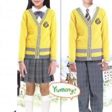 供应2015春秋季新品学生装卫衣绒衫班服学生装定做开衫休闲套装