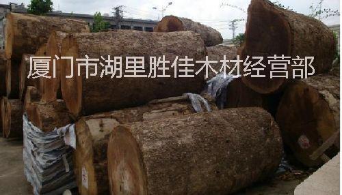 门厂的缅甸金丝楠木原木