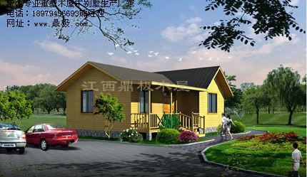 农家乐创意重型木屋建筑施工批发