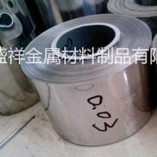 进口304H超薄精密不锈钢带材图片