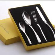 不锈钢餐具四件套礼品餐具套装图片