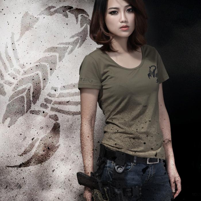 酋长夏季女装T恤户运动休闲短袖T恤销售
