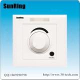 深圳对讲厂家供应SunRing病房电视伴音系统旋钮调音病房电视声音接收器TS-A