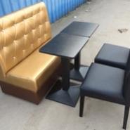 郑州定制卡座沙发西餐咖啡厅沙发图片