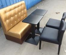 卡座沙发单人沙发餐桌餐椅咖啡厅沙发牛排店家具批发