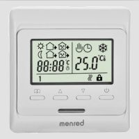 供应用于房间温度控制的曼瑞德温控器温控阀地暖散热器安装