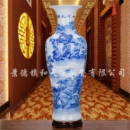 景德镇陶瓷花瓶 瓷器 颜色釉 黄色图片