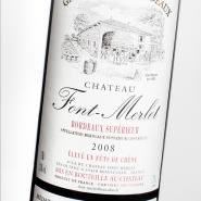 干红葡萄酒法国原瓶进口凤美莱2008图片