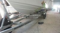 供应用于载重的12米长特制订做大型载重船用拖车批发