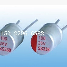 供应固态电容25V100UF/适配器固态电容