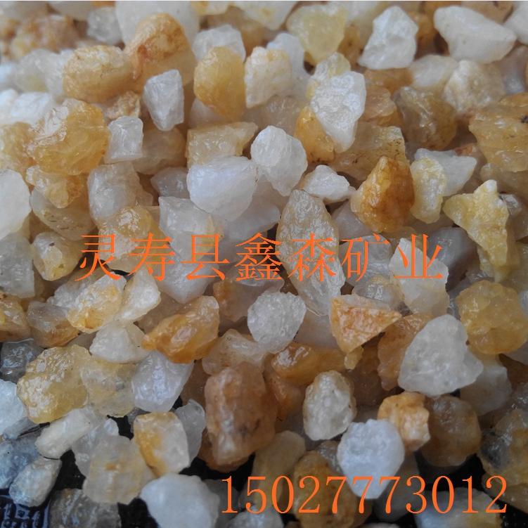石英砂滤料图片/石英砂滤料样板图 (1)