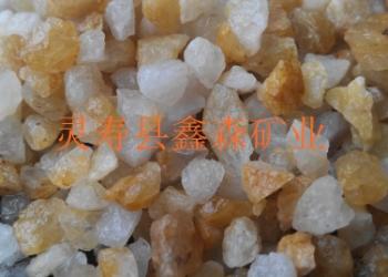 石英砂滤料图片