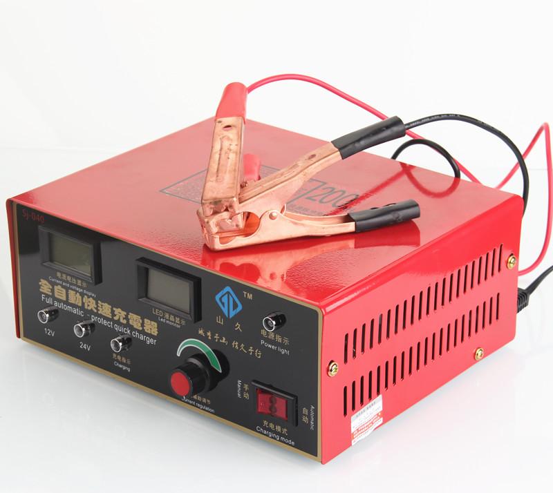 供应12v24v200汽车电瓶充电器大功率