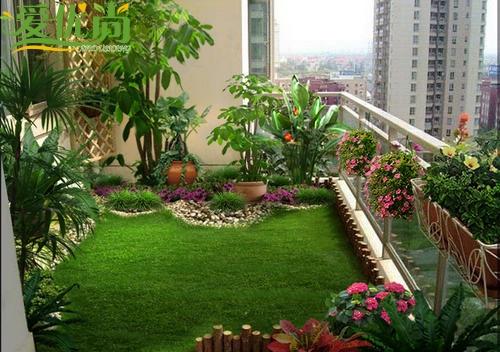 阳台绿化阳台园艺设计价格