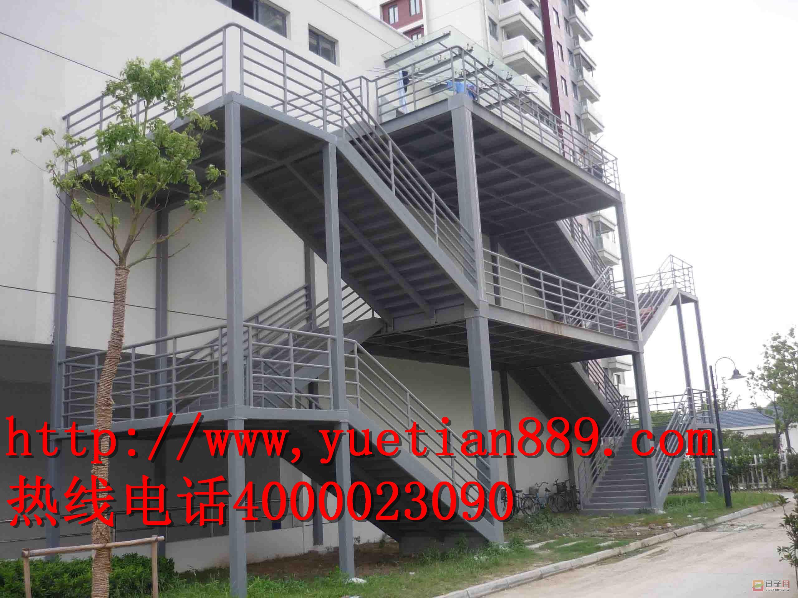 东莞专业承接钢结构楼梯