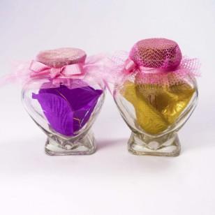 可爱开通工艺玻璃瓶图片