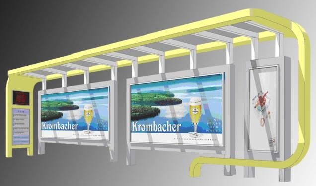 led公交站台设计,led户外公交站台灯箱生产制造图片大全