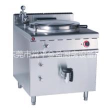 供应金盈不锈钢电热夹层汤锅/节能厨具/东莞厨具