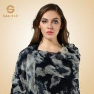羊绒围巾英伦丝绒女士秋冬图片