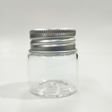 正现货批发3740高硼硅玻璃铝盖瓶 婚庆礼品包装配套包装图片