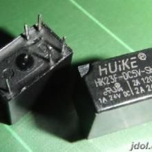 供应用于通信设备|安防|门禁锁的汇科HK23F/继电器批发/继电器特价批发