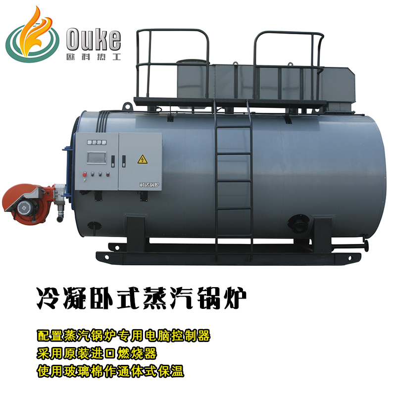 分汽的卧式冷凝蒸汽锅炉价格蒸汽
