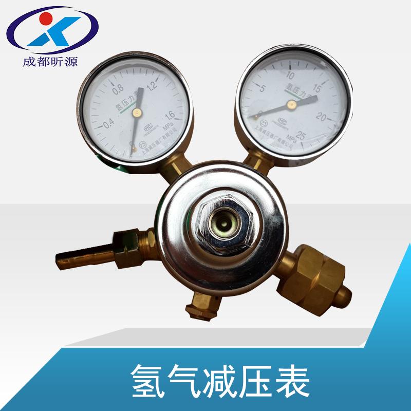 供应用于气体的氢气减压表