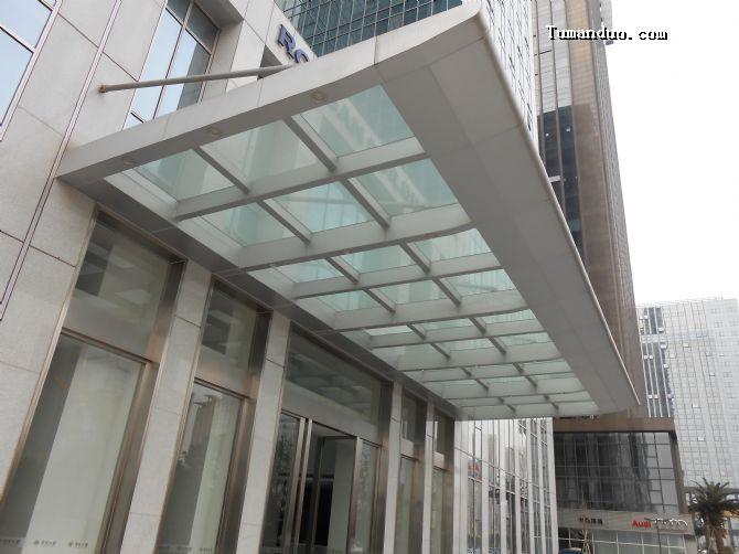 钢结构雨棚设计图纸展示