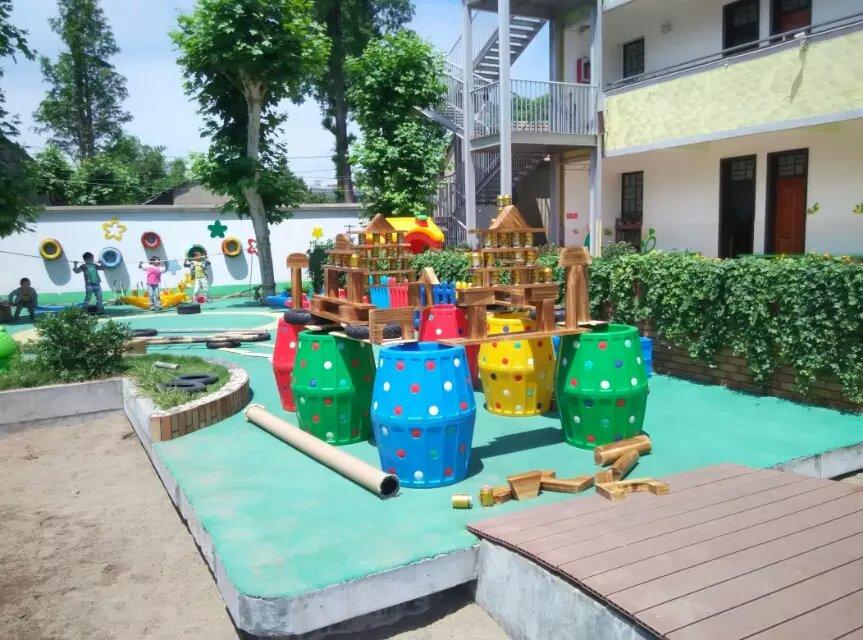 供应厂家供应幼儿园户外大型积木幼儿园室内积木无味环保积木