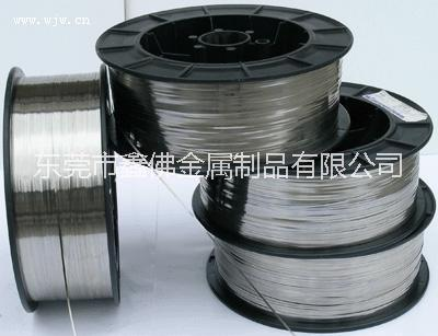 304不锈钢弹簧扁线厂家,东莞0.25*0.78mm不锈钢扁丝报价