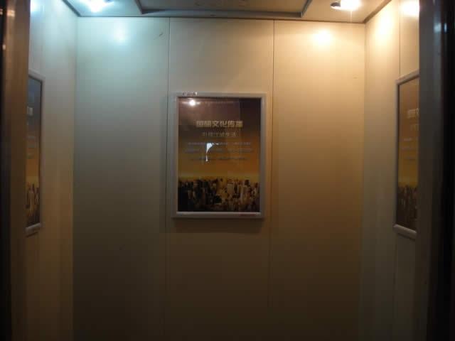 四川成都电梯广告框架广告报价