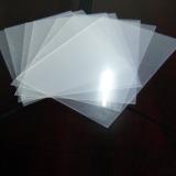 半透明磨砂PC薄膜 扩散板 铭板/包装/灯箱/的本色半透明磨砂PC薄膜0.375mm