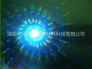 供应用于经过灯光烟花的烟花膜 3D烟花镜片、幻彩膜