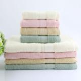 厂家推荐吸水抗菌竹纤维浴巾 家用高档原生态竹碳纤维成人浴巾