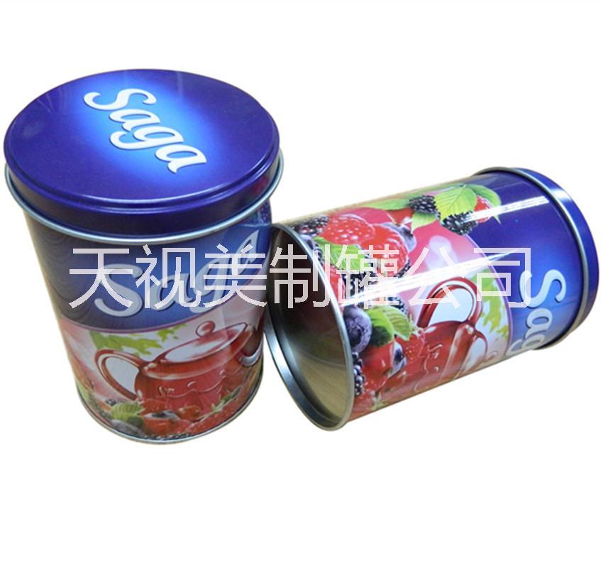幼儿园手工制作铁罐