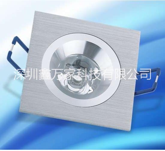 供应3W5W7W9W12led天花灯led射灯生产厂家