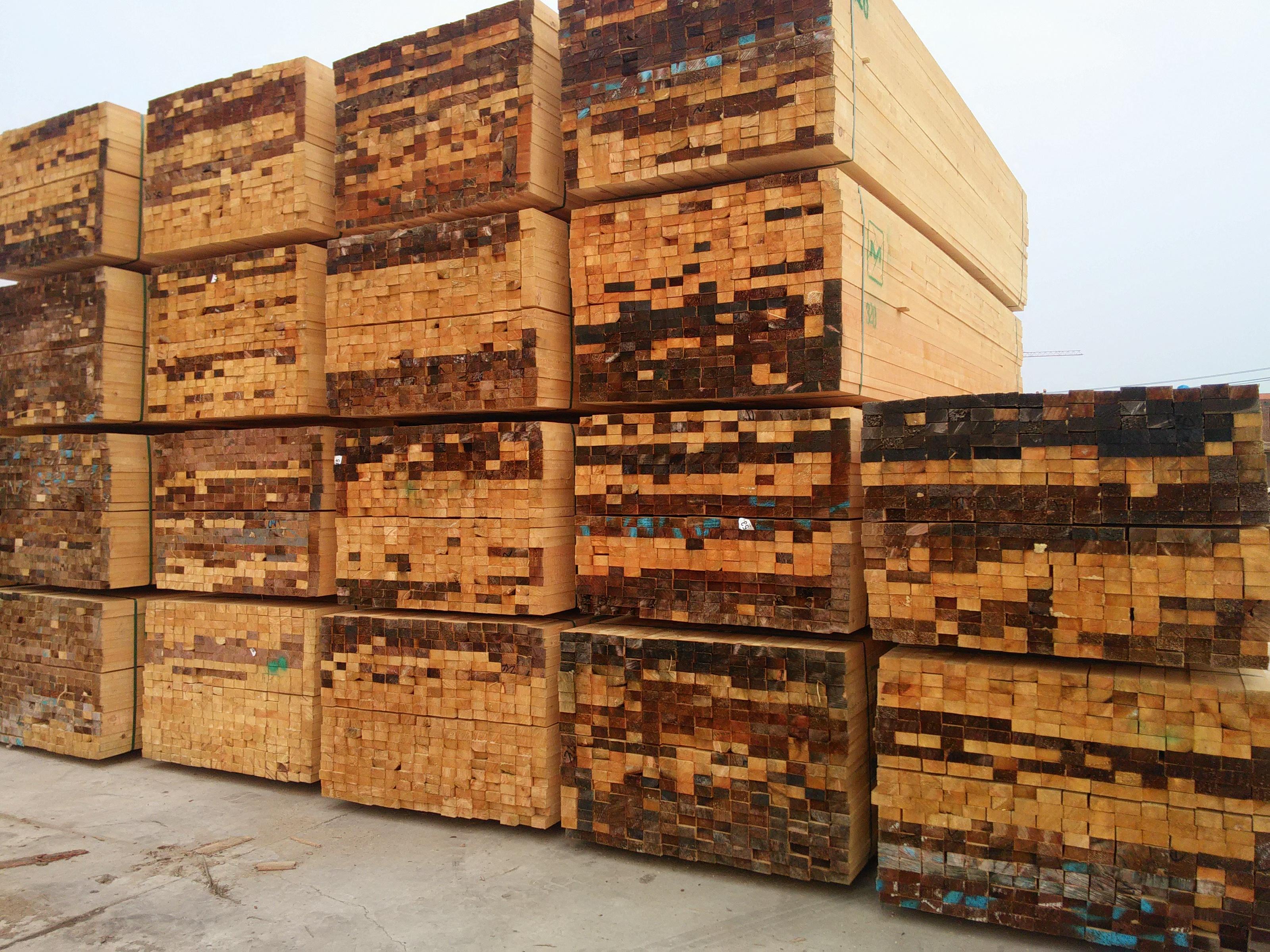 优质加拿大铁杉木方图片 优质加拿大铁杉木方样板图