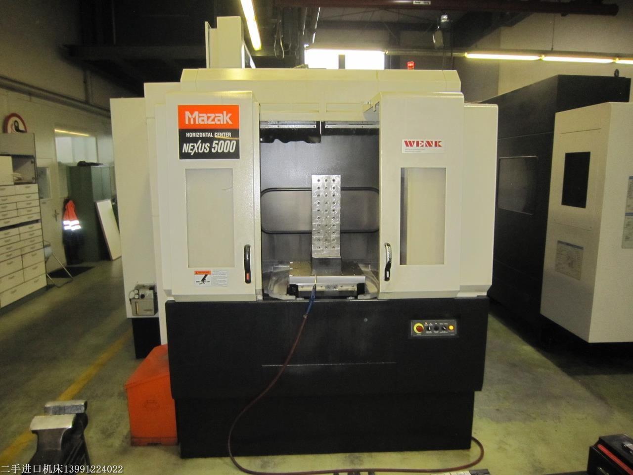 供应达州二手MAZAK卧式加工中心,二手MAZAK NEXUS HCN 5000卧式加工中心