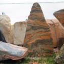 南阳晚霞红自然风景石出售图片