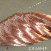 供应用于铆钉的中山红铜线厂家 环保红铜线加工 磷铜弹簧线厂家