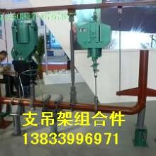 供应用于热力供暖管道的梁山G42梁侧三角架厂家 固定弹簧支吊架批发厂家