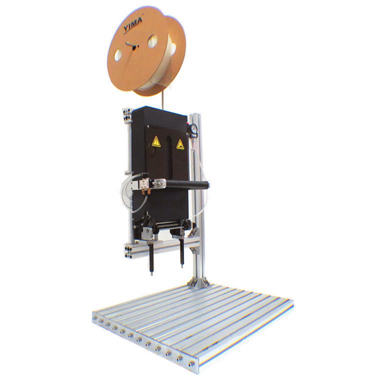 供应用于产品包装的弹性胶钉机 vns胶针机 玩具五金背卡固定 针距可调 绑钉机