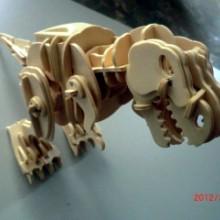 供应东莞木制品生产厂家,夹板3D拼插玩具,儿童DIY益智玩具,木制声控模型玩具厂家定制批发