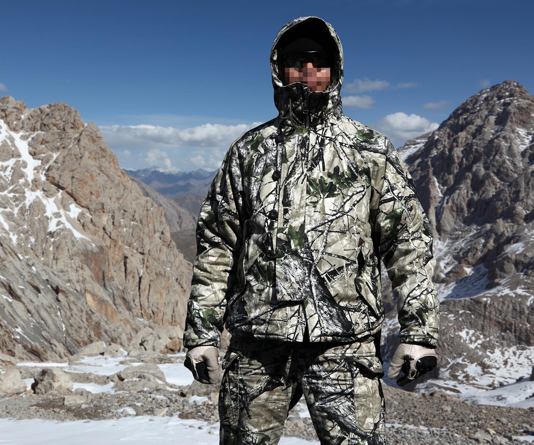 供应用于酋长制作的酋长新品冬装棕熊极地防寒棉服