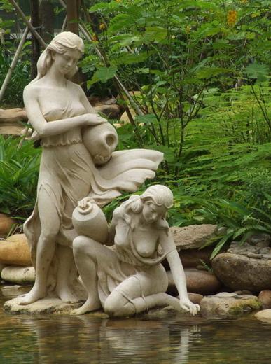 供应用于的园林人物雕塑,园林人物雕塑设计,园林人物雕塑报价