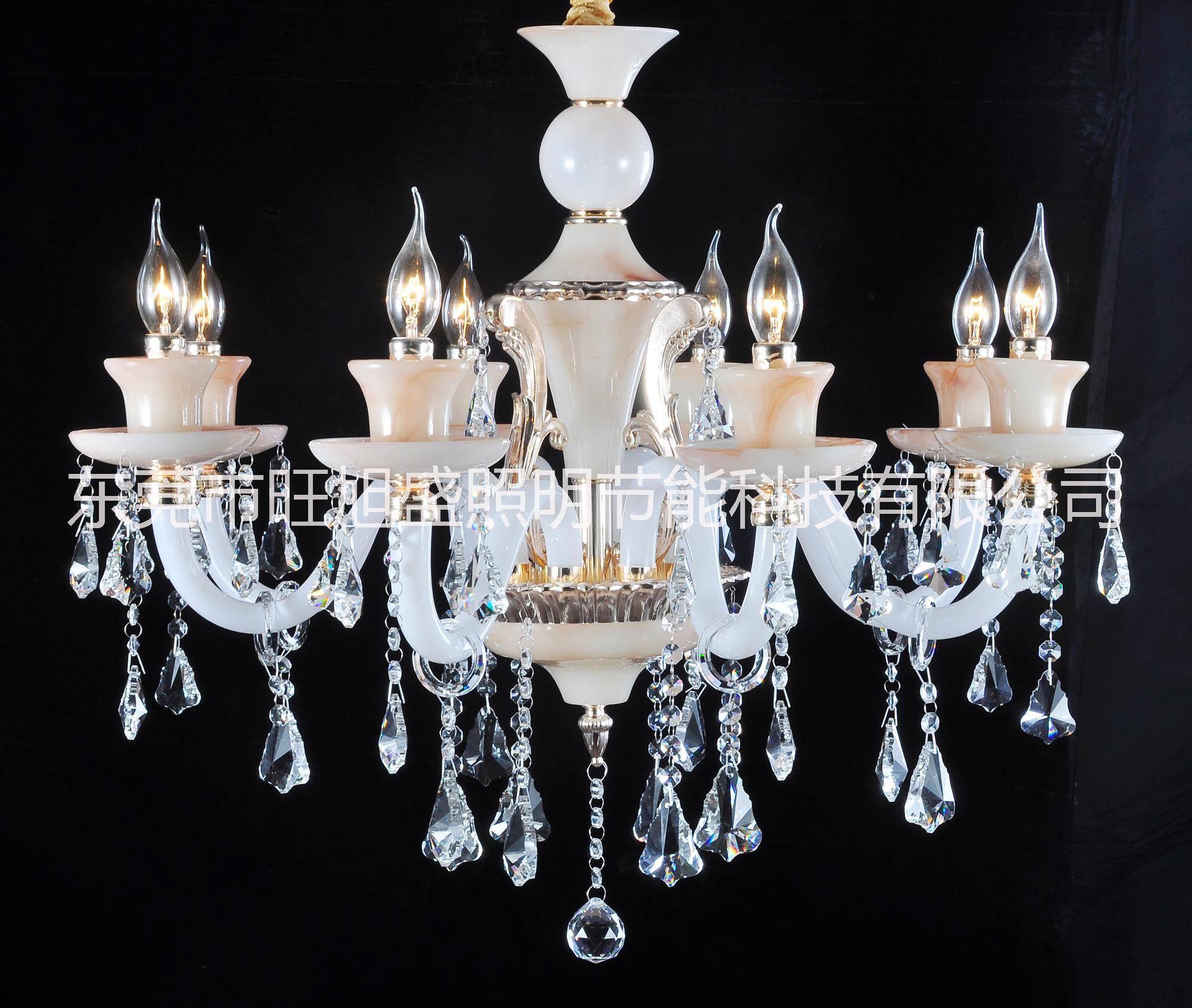 欧式玉石水晶灯-2002批发