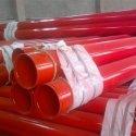 天津环氧涂塑钢管厂/天津涂塑钢管图片